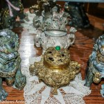 Foo dogs, antique incense burner