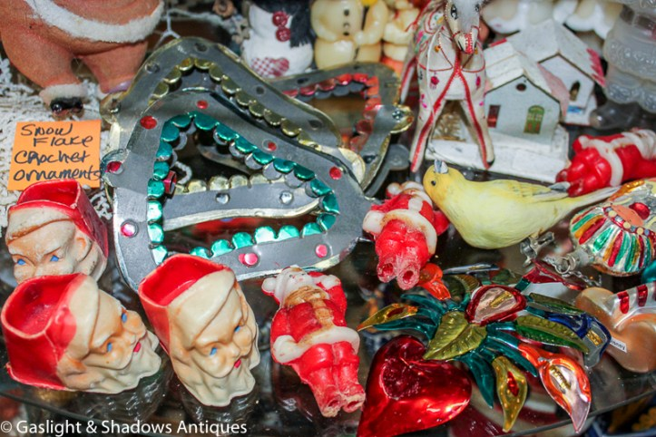 Vintage Christmas ornaments, items