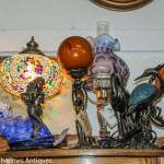 Unique lamps, mermaid lamp