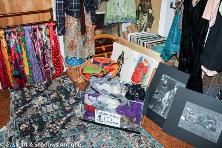 photos, tapestry, scarves