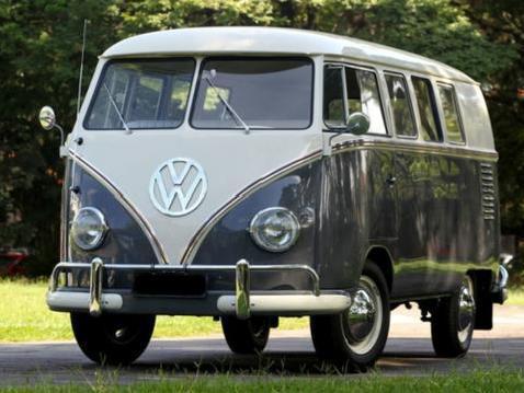 v8 - VW KOMBI, início, meio e fim