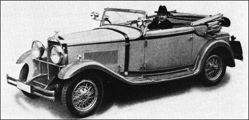 "wanderer 1931 10 50ps cabrio glaser - A história da ""Porsche"" e seu fundador ""Ferdinand Porsche"""