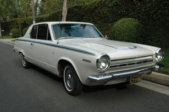 1964 Dodge Dart GT For Sale Front - Dodge Dart e Charger no Brasil