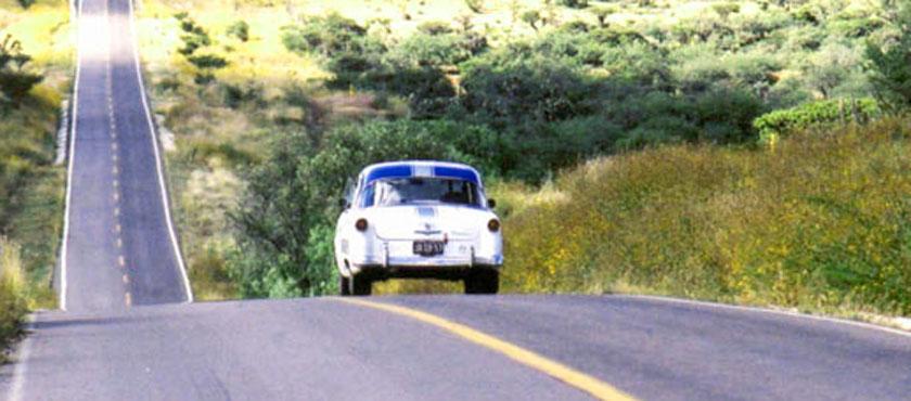 """a25 - A história da """"La Carrera Panamericana"""""""