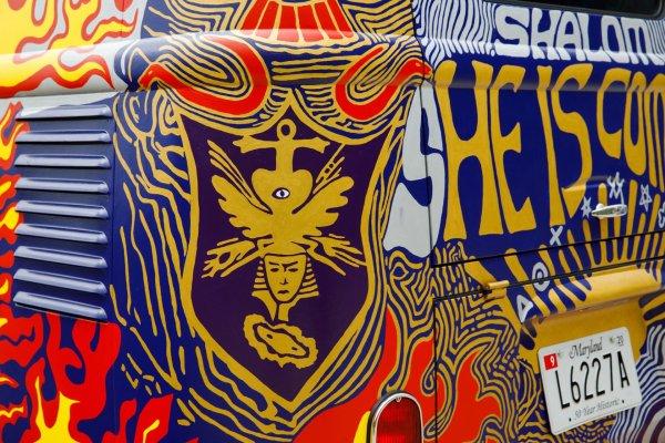 q37 1 - 50 anos do Festival de Woodstock, muito rock, paz, amor e carros.