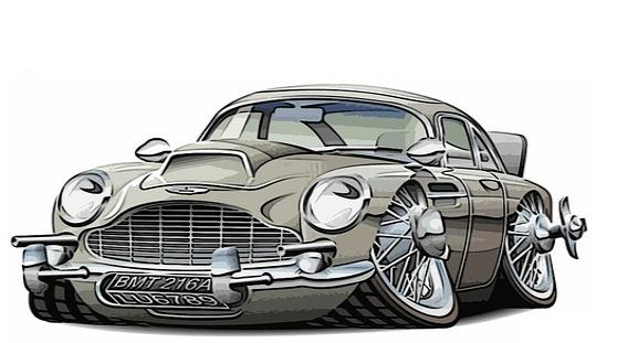zz33 - Aston Martin - o puro Inglês