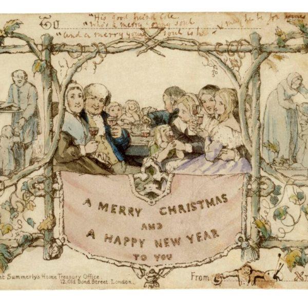 La primera tarjeta de navidad de la historia