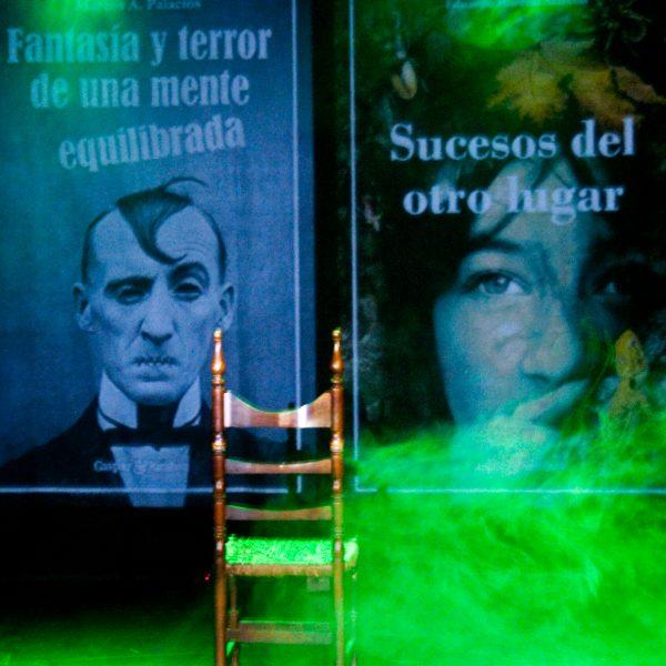 Presentación de 'Sucesos del otro lugar' y 'Fantasía y terror de una mente equilibrada'