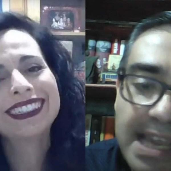 Intercambios: Dolors Fernández y Alberto García