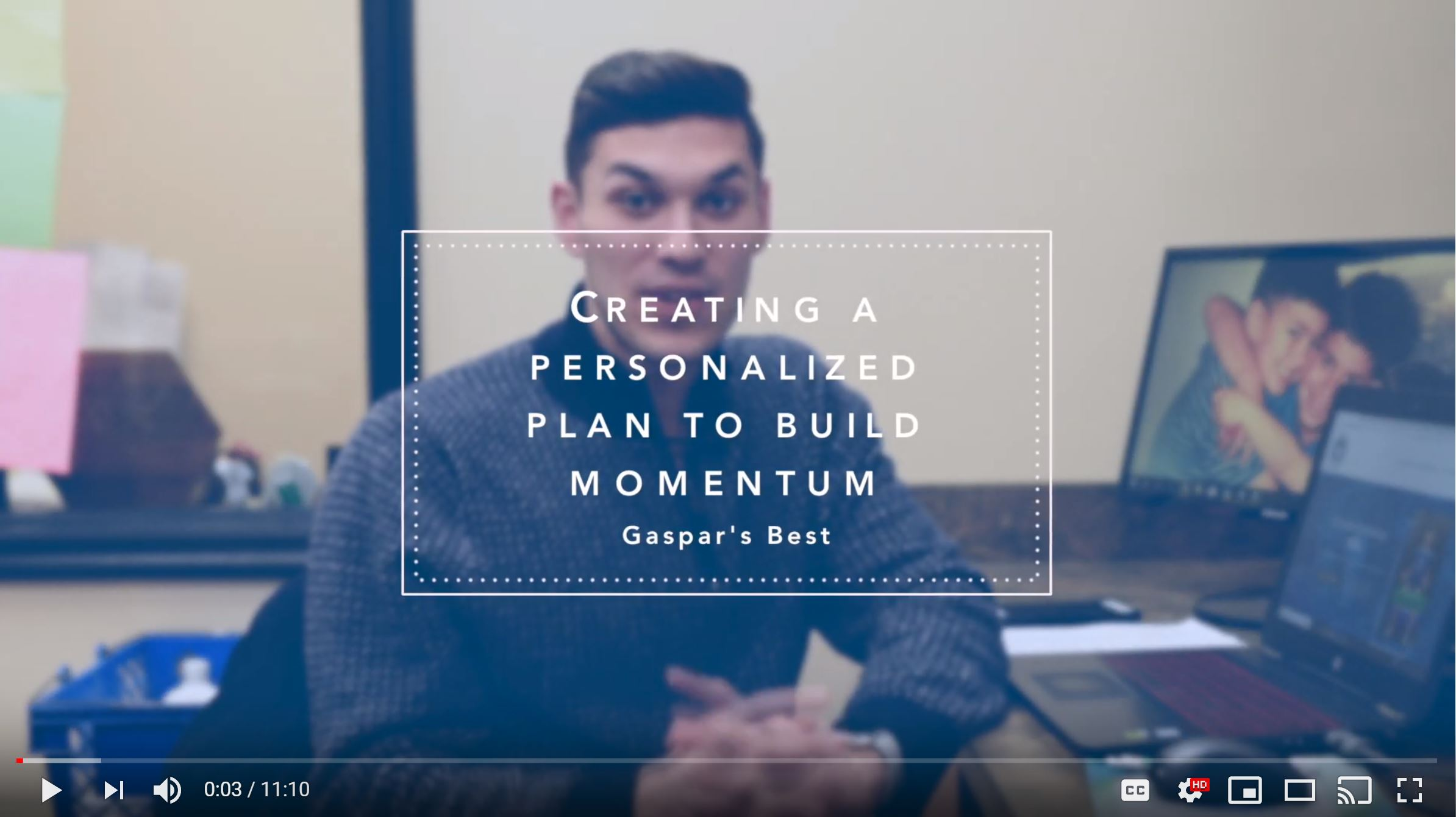 Creating A Personalized Plan To Build Momentum