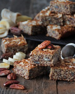 Peacan nut & Banana cake