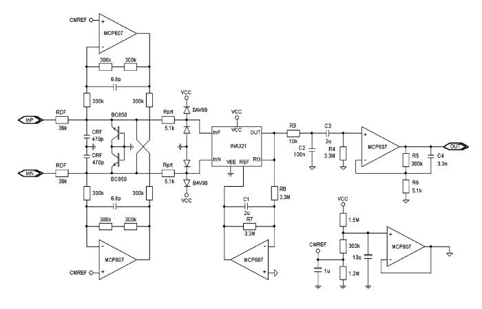 Three Port Optical Isolation Amplifier