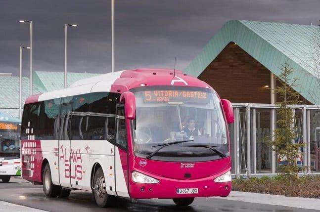 Autobús interurbano de Álava | Foto: DFA