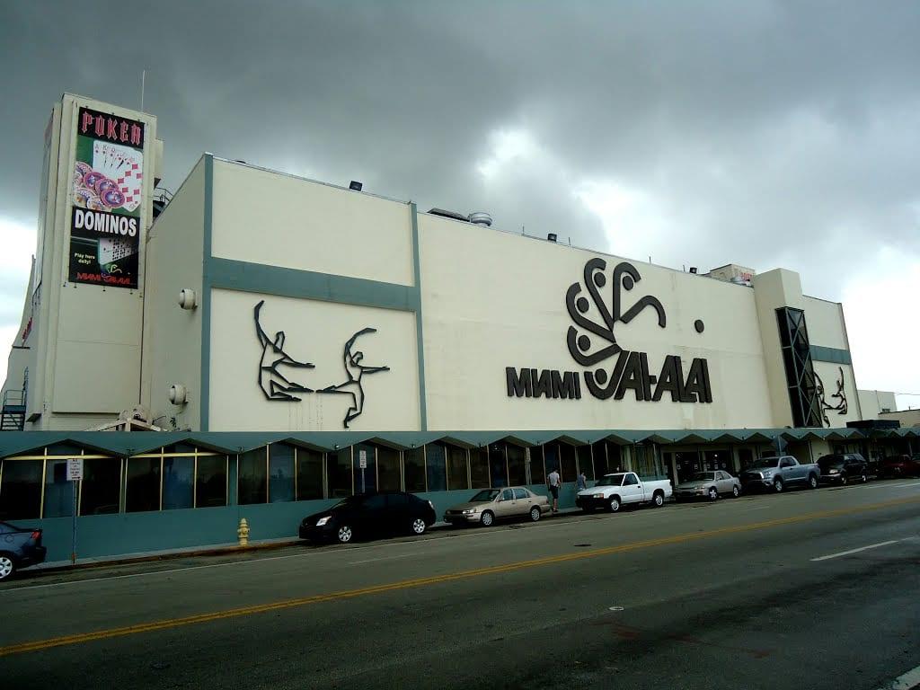 Miami Jai Alai fronton, Florida, Estados Unidos   Foto: Wikipedia