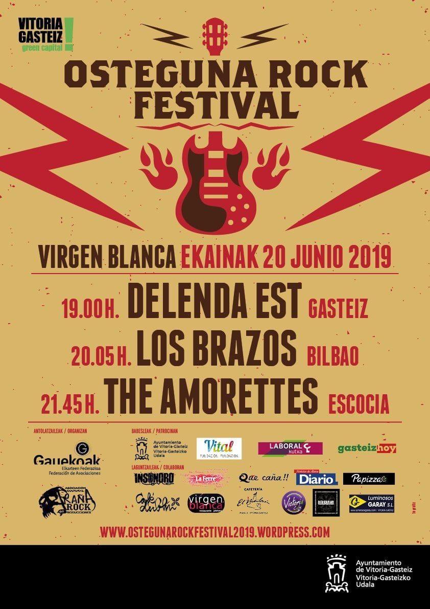 Osteguna rock festival vitoria-gasteiz