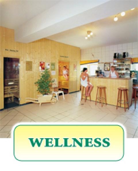 Wellness im Gasthof Zahn in Stedten, mit Sauna und Schwimmbad