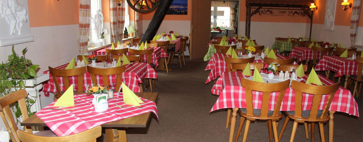 Restaurant Pegasus im Gasthof Zahn in Stedten
