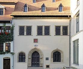 Luther-Sterbehaus in Eisleben