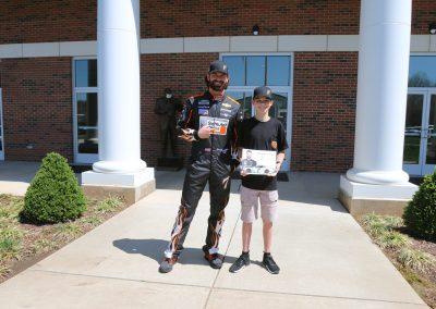 Armstrong's NASCAR surprise