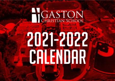 2021-2022 GCS School Calendar