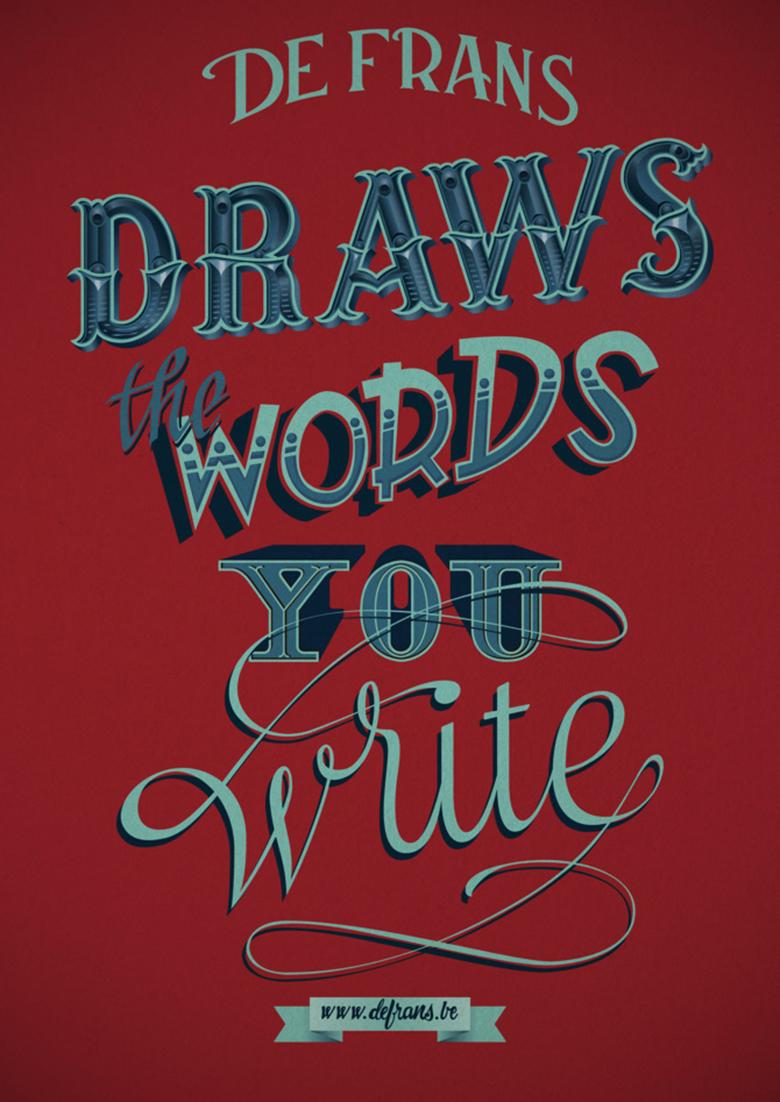 draws_the_words_you_write_gastondelapoyade