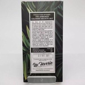 "IMG 20201107 164630 - Hasnaâ chocolat La Fèverie ""Arhuaco 72%"""