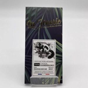 "IMG 2123 - Hasnaâ chocolat La Fèverie "" Sambirano 78%"""