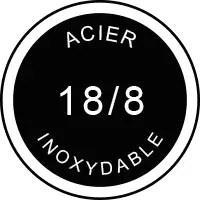 logo inox - Baröne - Bouteille isotherme 500ml