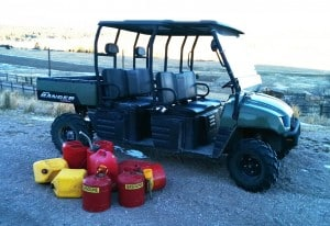Plastic and Metal Gas Containers