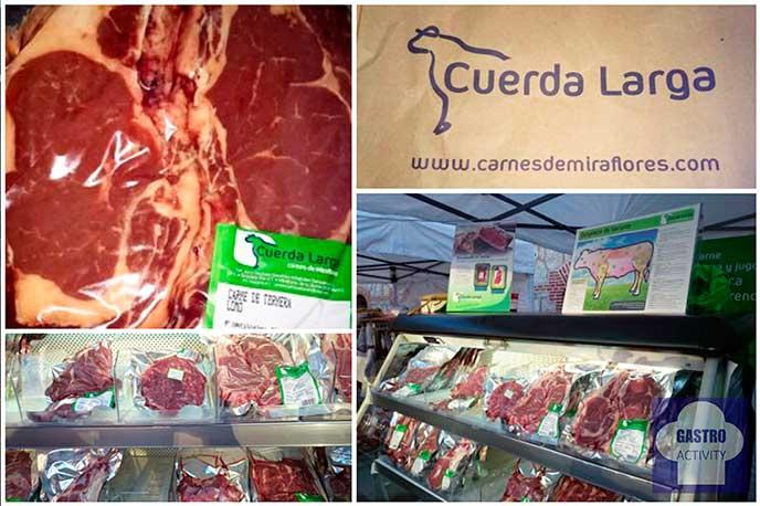 Carne de vacuno de Carnes de Miraflores Mercado Productores Madrid