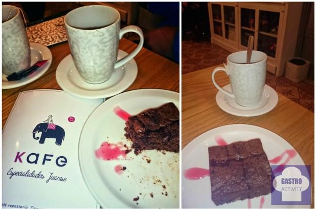 Brownie de Juanse Kafe