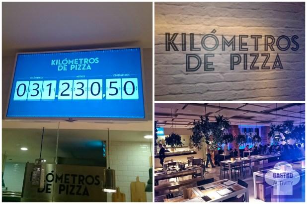 Contador de Kilometros de Pizza servidos