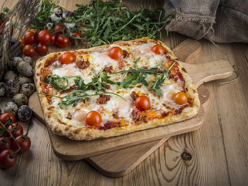 Kilometros de Pizza Pizza La Venta