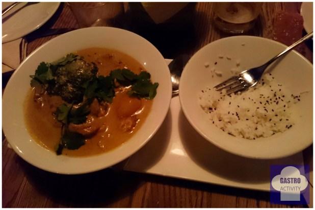 Pollo al Curry Tailandés en Lamucca