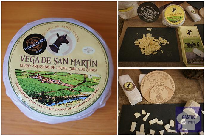 Quesos de leche de cabra de Vega de San Martín en GastroMarket