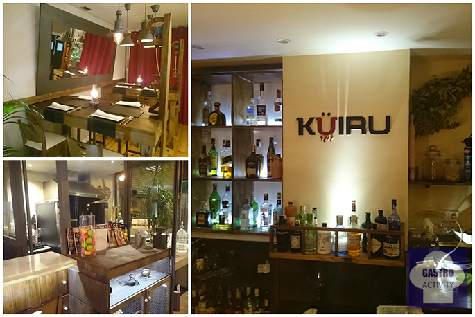 Interior del restaurante asturiano Kuiru en Madrid