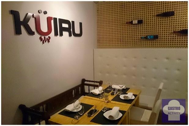 Salon del restaurante asturiano Kuiru en Madrid
