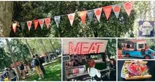 MadrEAT fiesta de la comida callejera. Edición abril 2015. Madrid. Azca