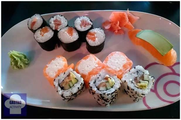 Miss Premium: makis de atún, makis de salmón, California salmón