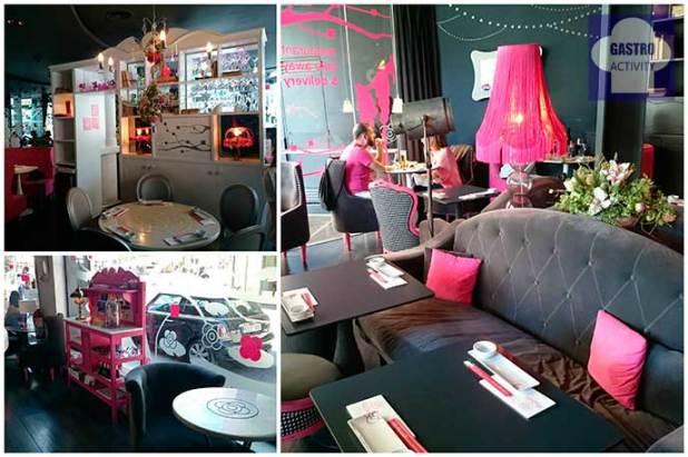 Interior restaurante Miss Sushi en Plaza de Santa Ana
