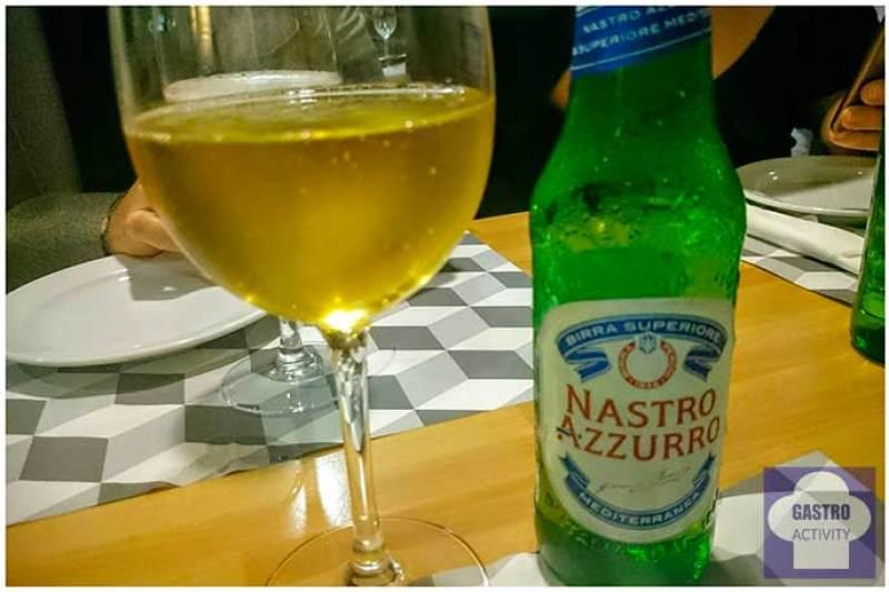 Birra Nastro Azzurro Restaurante Il Pastaio