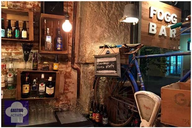 Interior de Fogg Bar Birras & Cheese