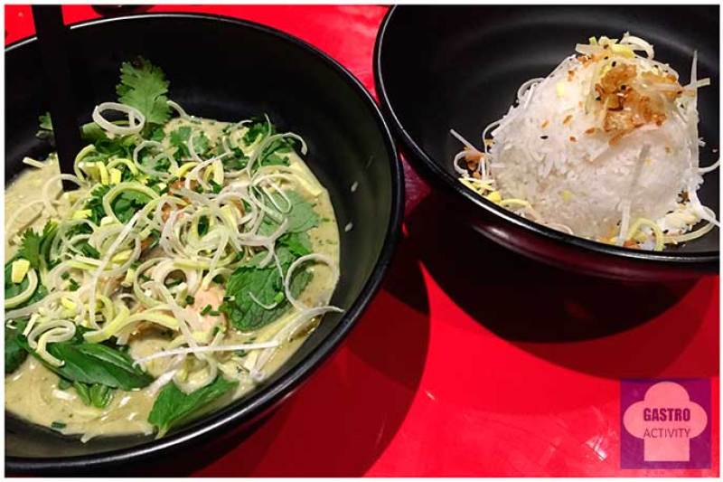 Curry Verde restaurante Tuk Tuk Madrid