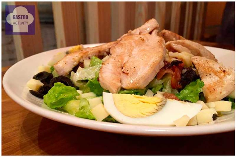 Ensalada Casa Tomada Restaurante La Casa Tomada Madrid