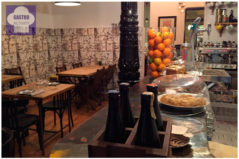 Comedor Restaurante Tandem Madrid