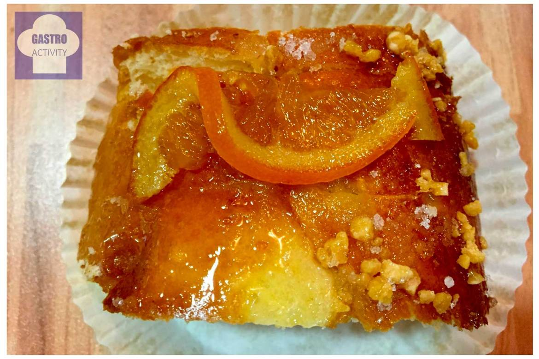 Naranja confitada y baño de almibar del roscon Mejores roscones de Madrid