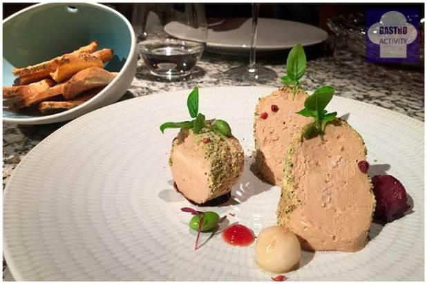 Mi-cuit de foie con semillas de regaliz Restaurante Random Madrid