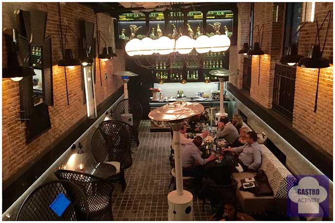 Terraza Restaurante Random Madrid