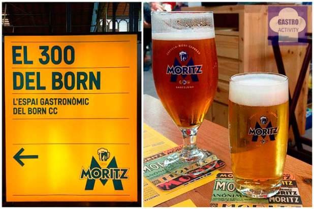 Espacio gasronómico El 300 del Born y Cerveza Moritz El 300 del Born Barcelona