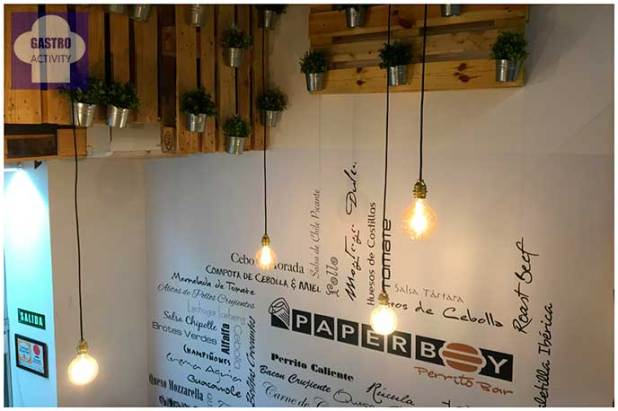 Paperboy Perrito Bar